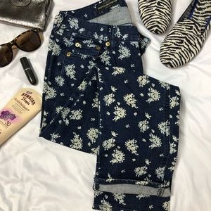 🛍🎉HP!J. CREW cropped matchstick pants jeans  A3